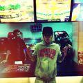 Justin Bieber at Burger King in Bangkok