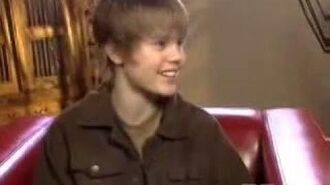 Justin Bieber etalk interview (aired 2008)