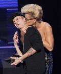 Justin Bieber and Jenny Mccarthy
