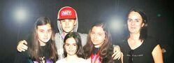 Justin Bieber meeting fans in Spain