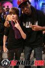 Justin Bieber visits BET's 106 & Park