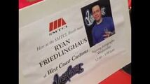 Ryan Friedlinghaus signing autographs