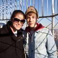 Justin Bieber with Allison Kaye 2011