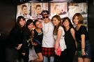 Bieber meeting fans in Tokyo 2014