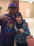 Jabari and Justin Bieber