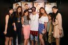 Justin Bieber meeting fans at V2 TOKYO