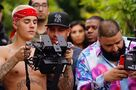 Justin holding a camera 2017
