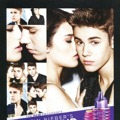 JUSTIN BIEBER Girlfriend 2013 Belgium 'The new fragrance - Never let you go - Enkel bij Planet Parfum'