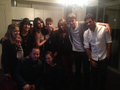 Dan, Selena, Justin, Mitch and others