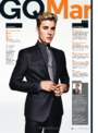 GQ magazine March 2016 the cover