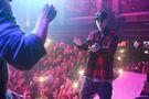 Justin Bieber dancing at LIV December 2015