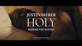 Justin Bieber - Holy ft. Chance The Rapper (Behind The Scenes)