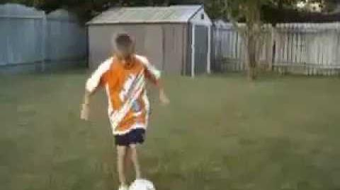 Justin Bieber playing sports - Basketball and soccer tricks