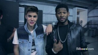 Justin Bieber and Usher - 2012 Billboard Cover Shoot