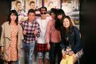 JB meeting fans at V2 TOKYO