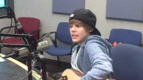"Justin Bieber ""One Time"" Acoustic!"