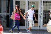 Selena Gomez and Justin Bieber in Toronto June 1st 2011