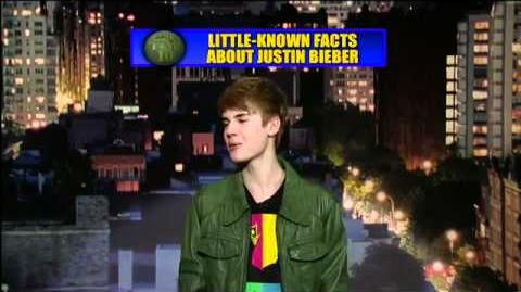 Justin Bieber (Top 10 Facts) on Late Show With David Letterman