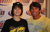 Justin Bieber and Bert Weiss June 2009