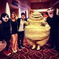 Justin at the Hotel Transylvania premiere
