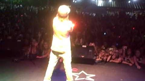 ON TOUR WITH JUSTIN BIEBER & DJ TAY JAMES-TULSA