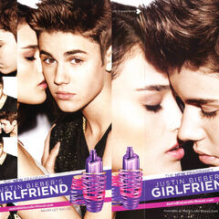 JUSTIN BIEBER Girlfriend 2012 US (Macy's stores)
