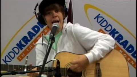 Justin Bieber - One Time (live in-studio)