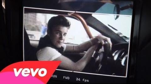 Justin Bieber - Boyfriend (Behind The Scenes)