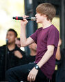 Justin Bieber performing at Easter Egg Roll April 5, 2010