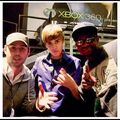 Scooter Braun, Justin Bieber and DJ Tay James