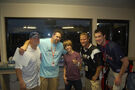 The B staff with Justin Bieber