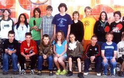 7th grade Ping Pong