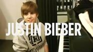 Justin Bieber Piano Solo (for his Grandmother) Live @ SiriusXM Hits 1