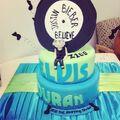 Elvis Duran cake