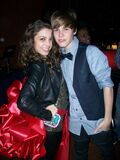 Jacque Rae at Justin Bieber's birthday party
