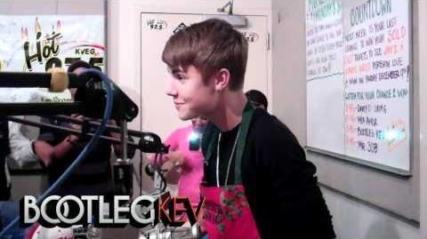 "Justin Bieber Freestyles Over Biggie's ""Who Shot Ya"""