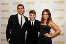 Justin Bieber and Adam Braun Pencils of Promise Gala