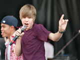 Justin Bieber performing at Easter Egg Roll April 2010