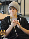 Justin Bieber in New Zealand 2010