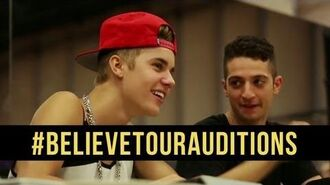JUSTIN BIEBER BELIEVE TOUR - ONLINE DANCE AUDITIONS DS2DIO