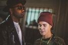 Bieber at Soundz' album release party