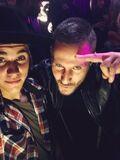 Justin Bieber tipsy