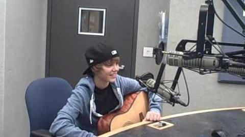Justin Bieber and Asher Roth on Q 102