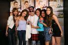 Justin Bieber meeting fans in Tokyo