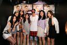 Justin Bieber meeting fans in Tokyo 2014