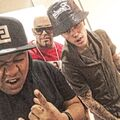 Justin Bieber with Kyle Massey and Mally Mall