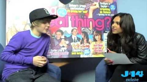 Kristinia DeBarge Interviews Justin Bieber Part 3