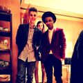 Lil Twist with Justin Bieber and Barbara Palvin