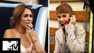 Justin Bieber Gets Miley Cyrus PunkD