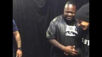 Poo Bear meeting Justin Bieber